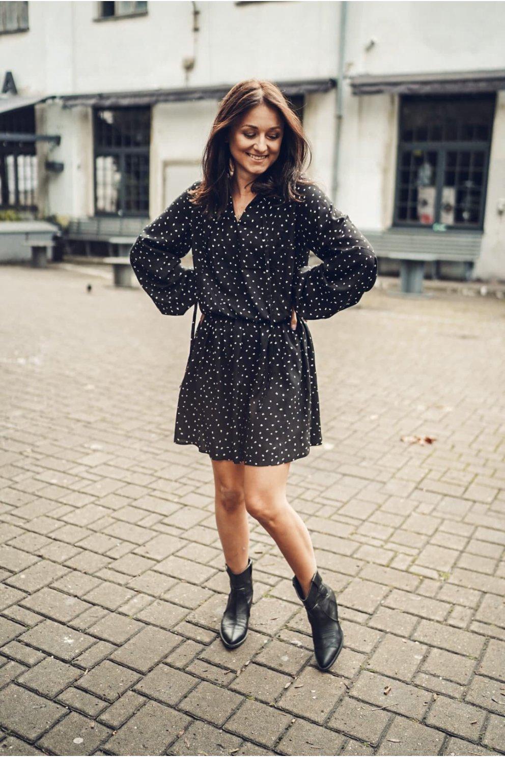 Sukienka ELENA BLACK SPOT