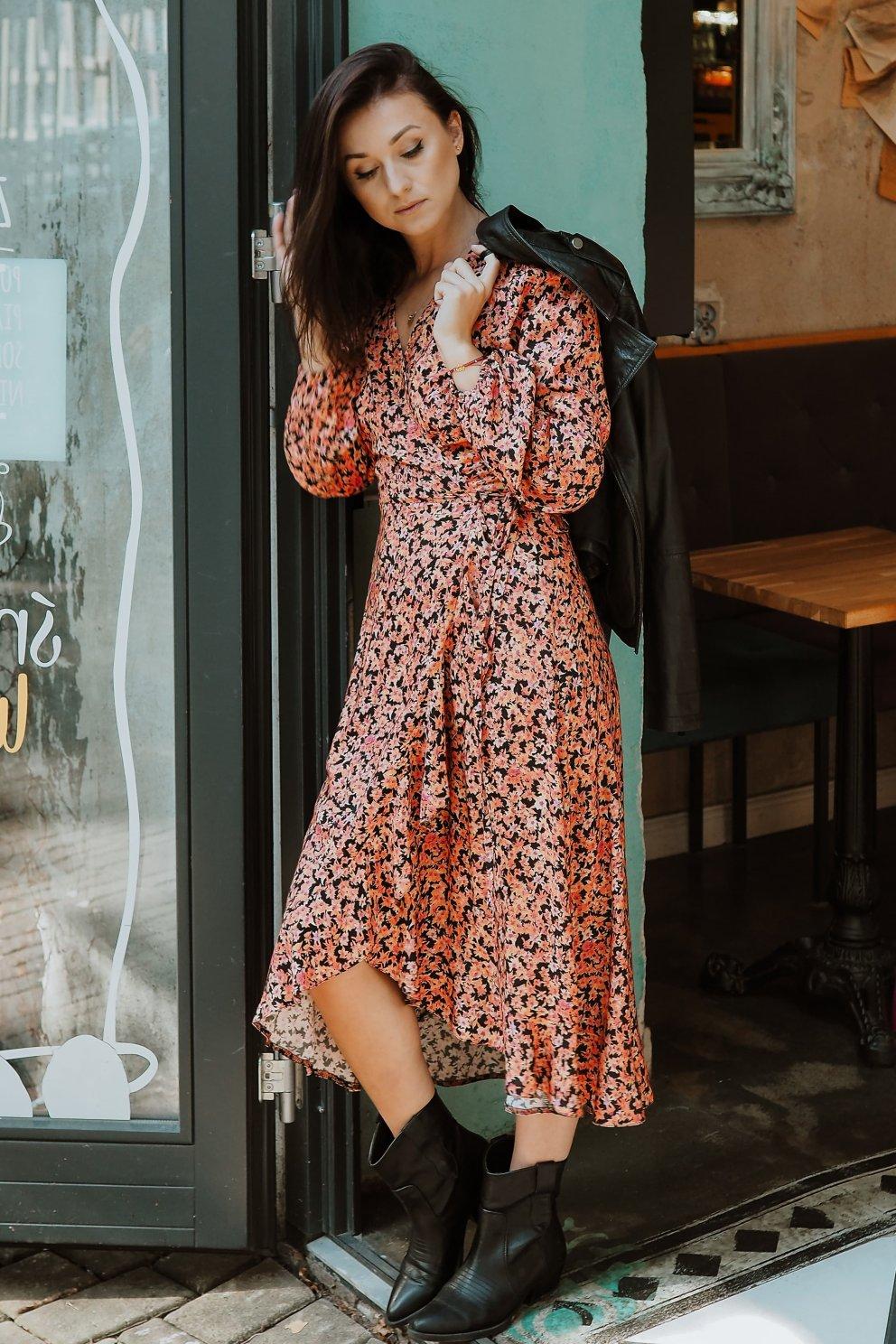 Sukienka ARIA ORANGE
