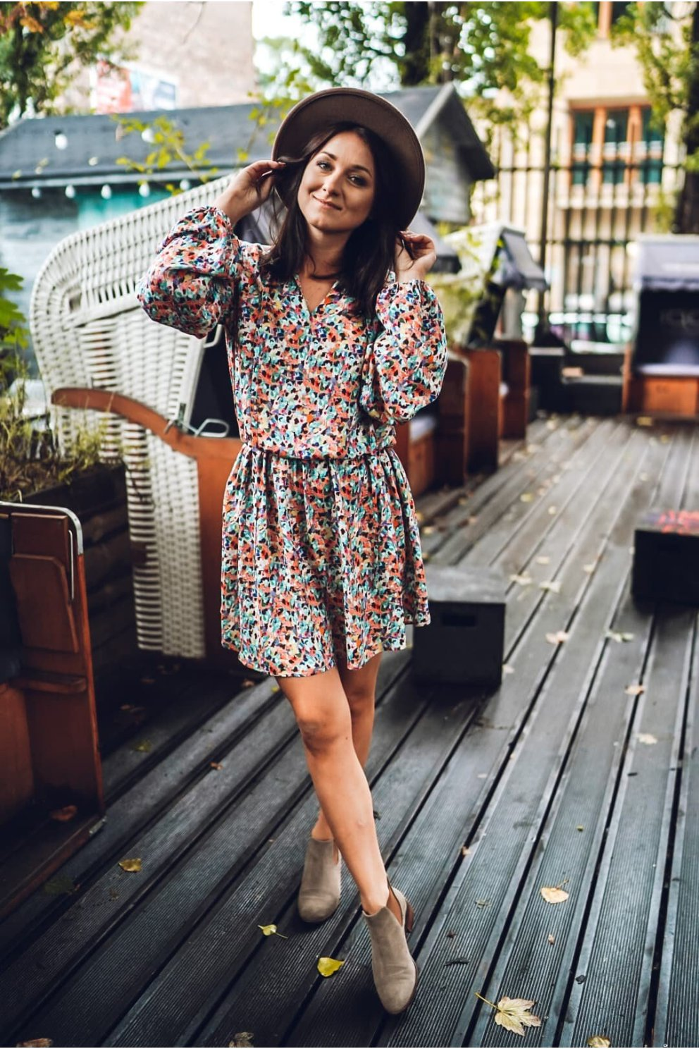 Sukienka ELENA RAINBOW