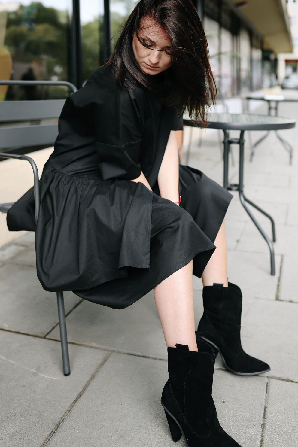 Naree Sukienka POPPY BLACK4