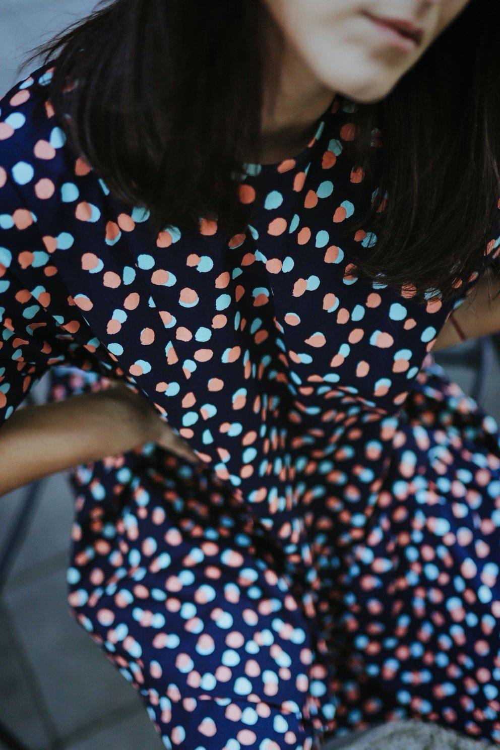 Sukienka POPPY BLUE DOTS2