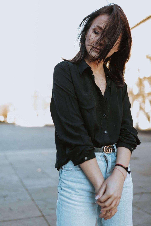 Naree Koszula All Black