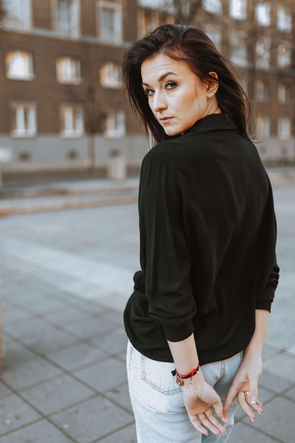 Naree Koszula All Black2